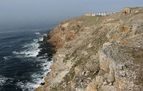 В Черном море обустраивают остров