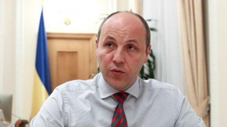 А.Парубий верит вэффективную работу парламента осенью