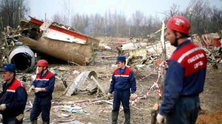Появились новые данные окрушении Ту-154 Леха Качиньского
