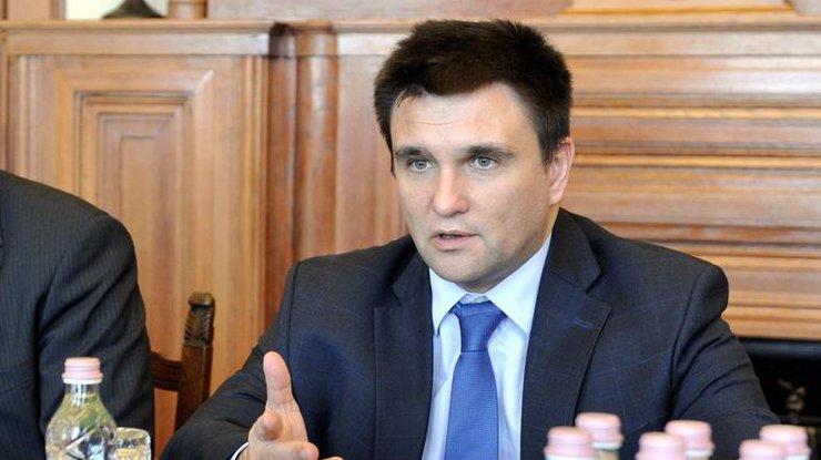 Климкин озвучил условия для встречи Порошенко сПутиным