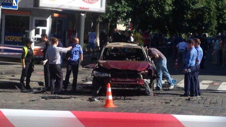 Следствие назвало дом, изкоторого подорвали машину Шеремета