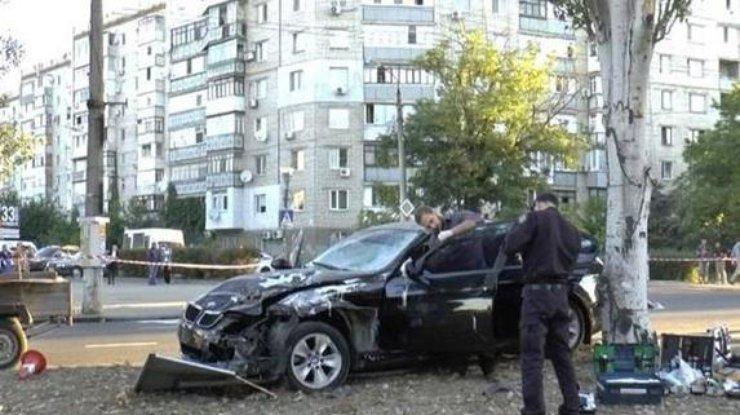Чудовищная авария вНиколаеве: шофёр был нетрезв