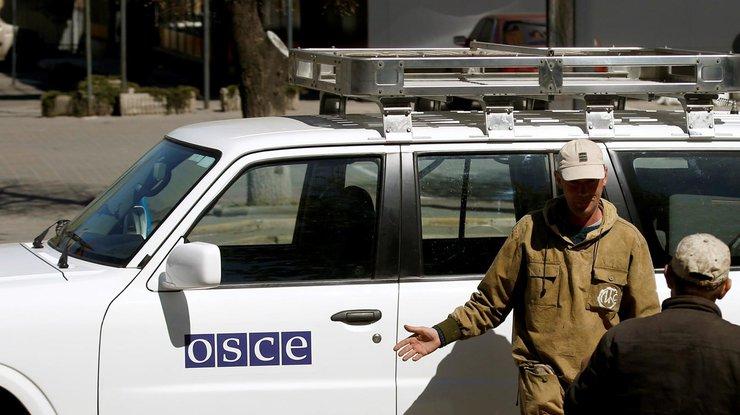 ОБСЕ: Ночь наДонбассе прошла спокойно