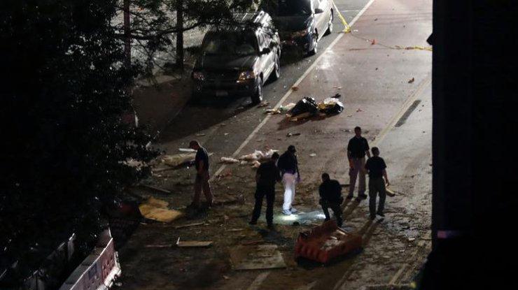 Вцентре Нью-Йорка прогремел мощнейший взрыв