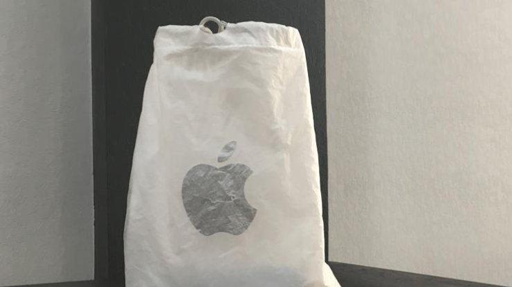 Пластиковые пакеты от яблочников уходят в прошлое