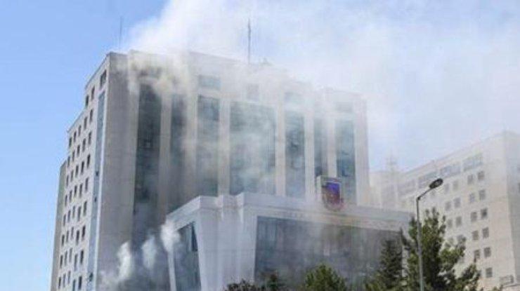 Напосольство Израиля вТурции совершено нападение