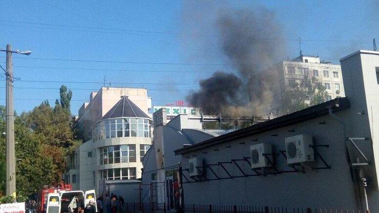 Вресторане Одессы произошел взрыв