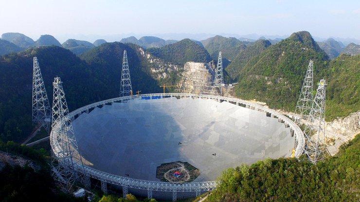 ВКитайской народной республике запустили крупнейший вмире радиотелескоп