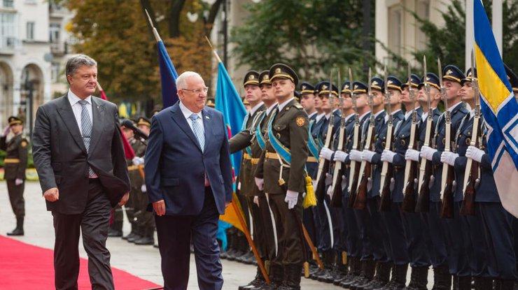Президент Израиля посетит Украину