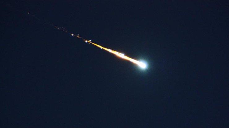 Над Австралией взорвался метеорит