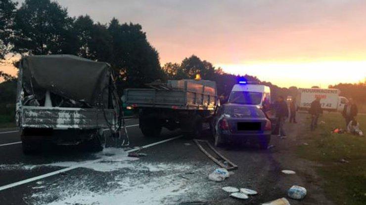 НаЛьвовщине шофёр задавил дорожного рабочего