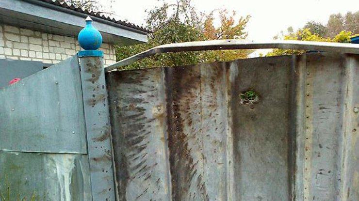ВЧерниговской области обстреляли изгранатомета личный дом