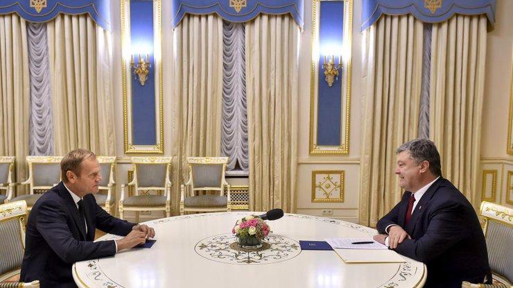 Порошенко: Мырассчитываем насохранение солидарностиЕС сУкраиной
