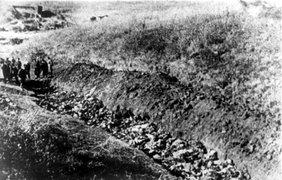За два дня 29-30 сентября 1941 года в Бабьем Яру немцы расстреляли 33 тыс. человек
