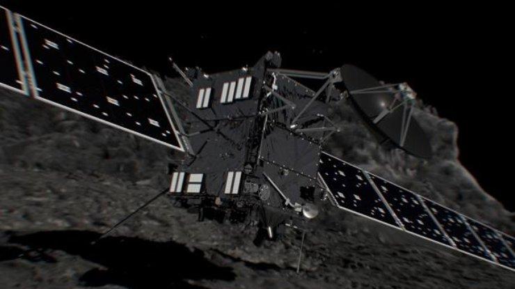 Зонд «Розетта» отдал последний «поцелуй» комете Чурюмова— Герасименко