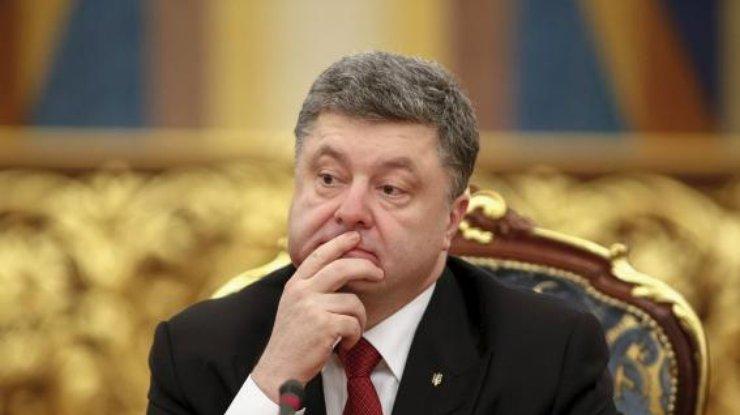 Стало известно, начто потратил Порошенко свою заработную плату вконце лета