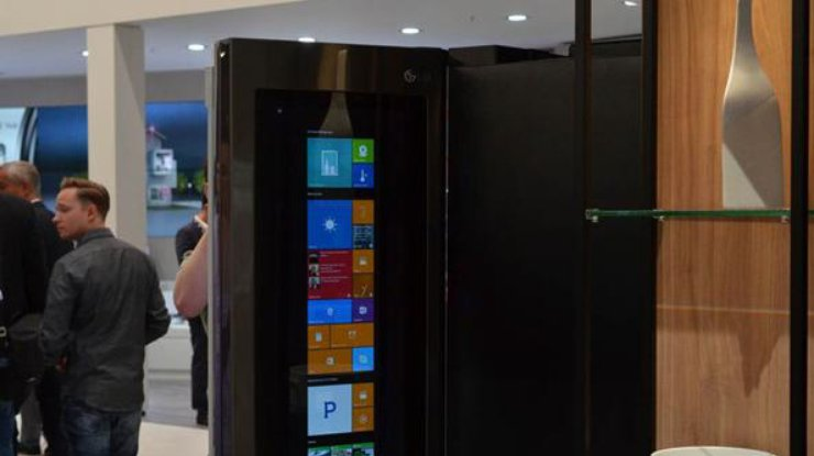 IFA 2016: LGпредставила смарт-холодильник наWindows 10