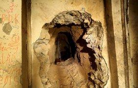 Секретные туннели позволяли боевикам свободно перемещаться под землей