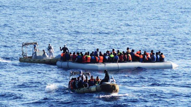 15 беженцев погибли вСредиземном море, пытаясь добраться доЕвропы