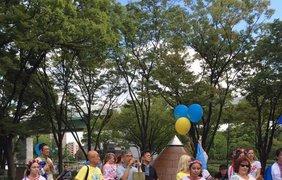 Мегамарш прошел в субботу, 3 сентября. Фото:Украинцы в Японии. Земляки
