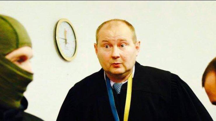 Рада дала согласие назадержание иарест судьи Чауса