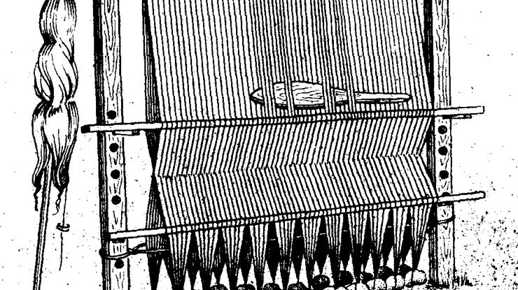 НаЛьвовщине отыскали ткацкий станок времен Римской империи