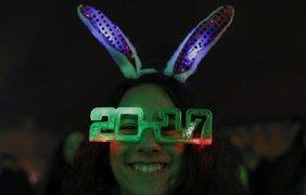 2017 год встречают бурно и весело