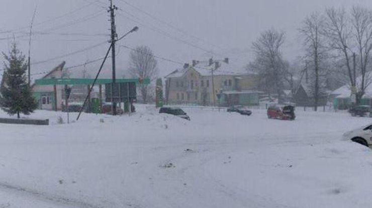 ВОдесской области движение на трассах все еще ограничено