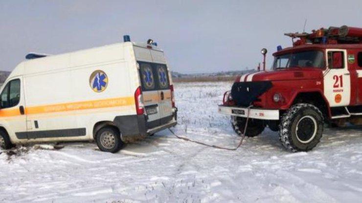 На трассах Украины засутки травмировалось 59 человек, трое погибли