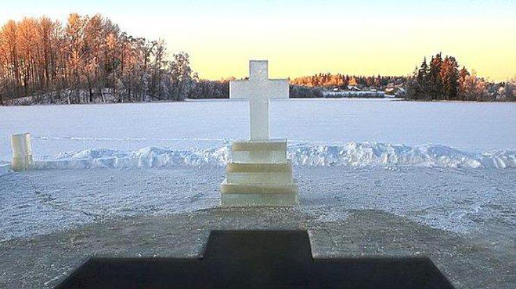 Картинка 19 января крещение