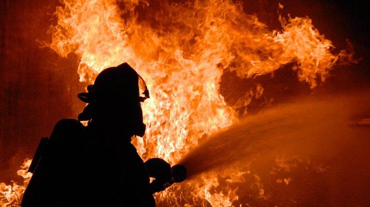 Женщина угодила в поликлинику — Пожар вДнепре