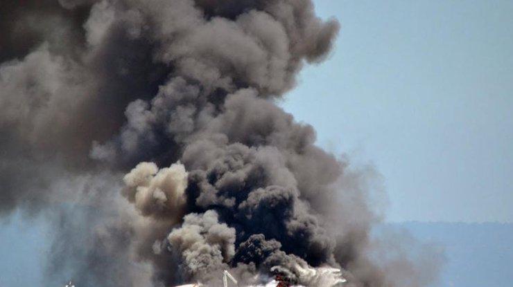 Под Бишкеком потерпел крушение грузовой самолёт