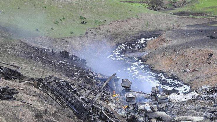 В столицу отправили «черные ящики» разбившегося самолета вКиргизии
