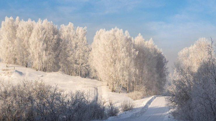 КРождеству вКривой Рог придут сильные морозы