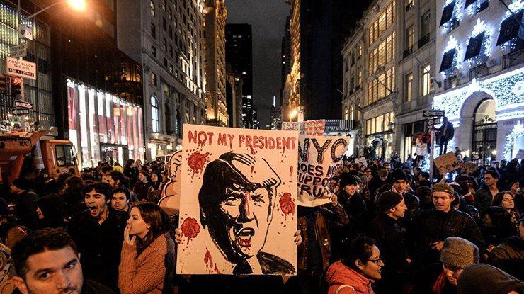 ВНью-Йорке протест: против Трампа выступили мировые звезды
