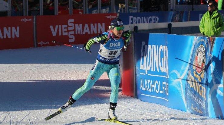Масс-старт вАнхольце выиграла немка Хорхлер, Джима- 10-я— Биатлон
