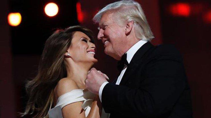 Трамп с женой станцевали 1-ый танец набалу вчесть инаугурации