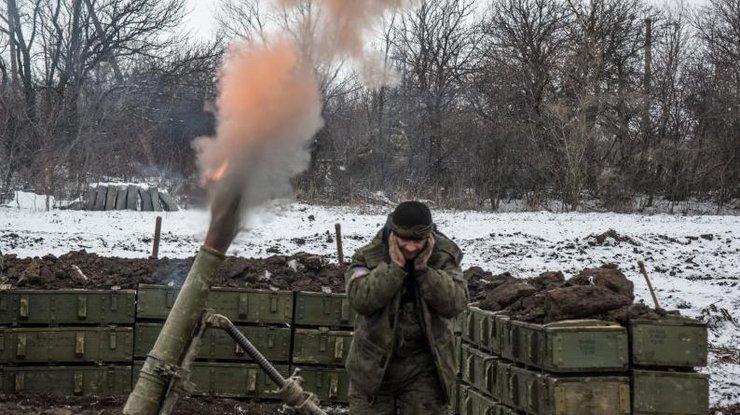 Штаб АТО насчитал 41 обстрел ввоскресенье