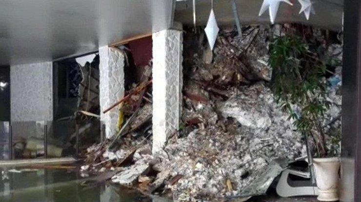 3-х щенков спасли из-под заваленного лавиной отеля вИталии