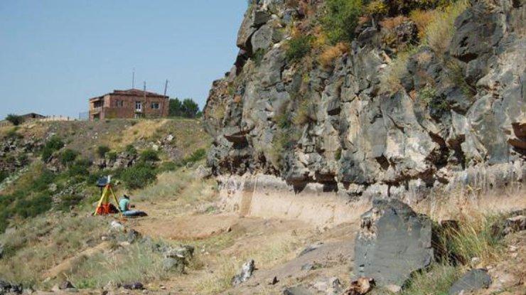ВАрмении отыскали стоянку старинных людей возрастом около 2-х млн лет