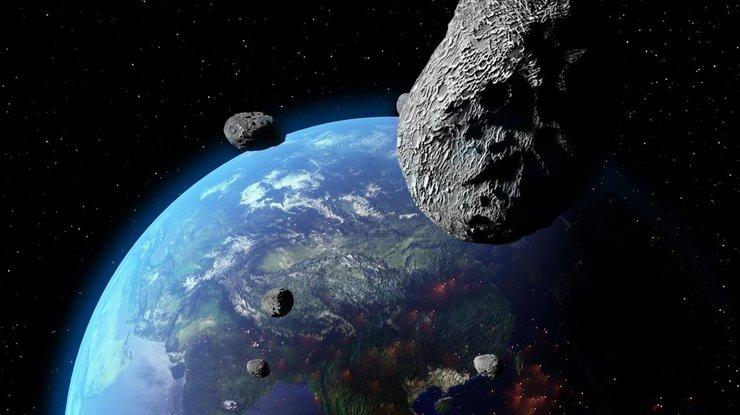 Мимо Земли этим утром пролетел астероид размером савтобус