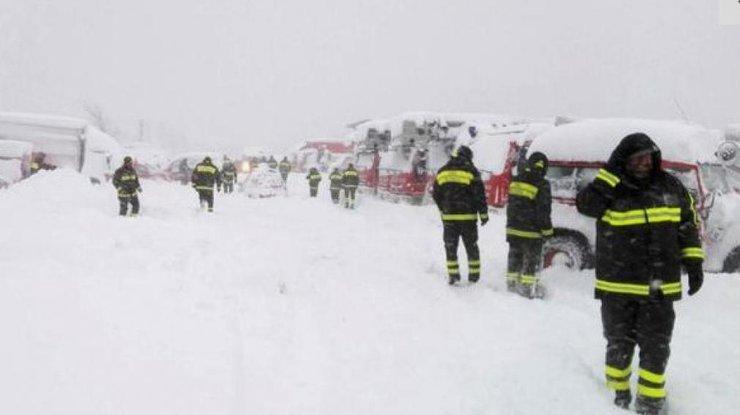 Лавина вИталии: спасательная операция завершена