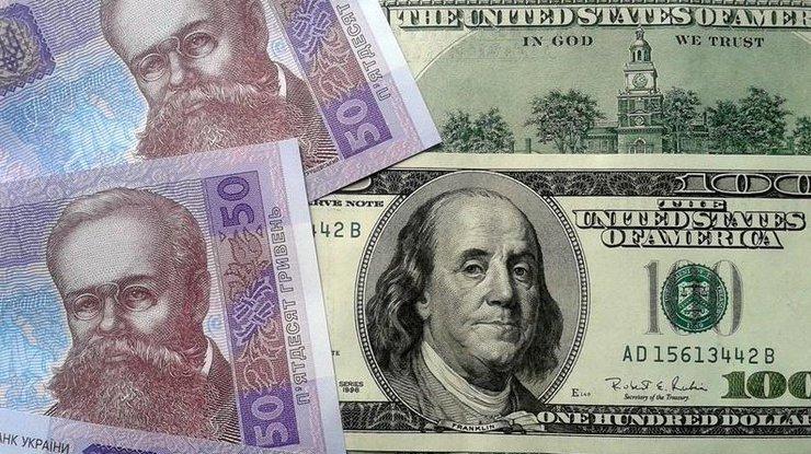 Гривня опустилась до27,85 задоллар— Валютные качели
