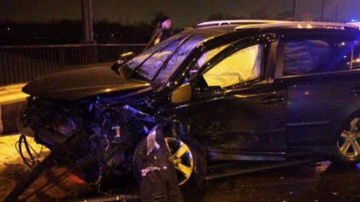 Масштабное ДТП намосту вХарькове: Столкнулись 7 авто, пострадали 4 человека