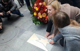 Фото: Нина Матвиенко на вручении звезды