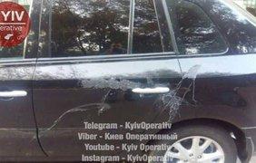 Облитые машины / Фото: facebook.com/KyivOperativ