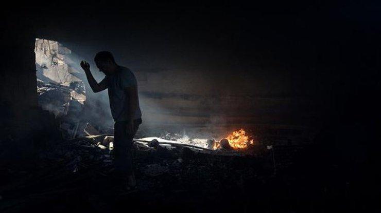 НаДонбассе под землей обнаружили тела боевиков