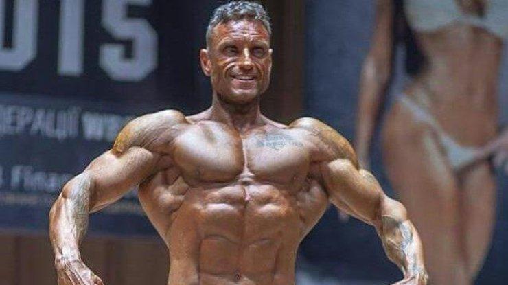 ВКиеве скончался 45-летний чемпион мира иЕвропы пободибилдингу