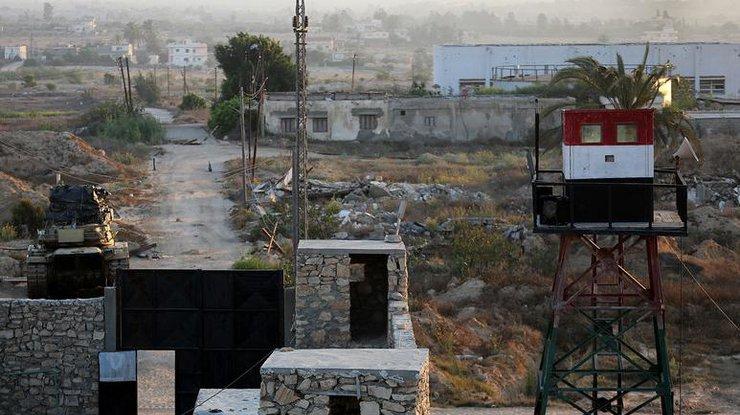 Боевики напали надва КПП насевере Синая вЕгипте