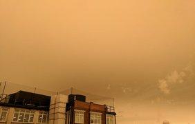 "Ураган ""Офелия"" / Фото: из Twitter"